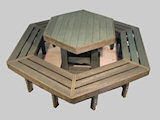 68-seater-hex-picnic-table